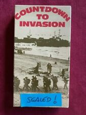 COUNTDOWN TO INVASION - SEALED! - NEW! - STORY OF 10 COMMANDOS PRE-D DAY - VHS