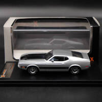 IXO Premium X Ford Mustang Mach 1 1973 Silver 1:43 PRD398J Limited Edition Resin