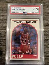 1989 Hoops Michael Jordan #200 PSA 8 NM-MT Bulls GOAT
