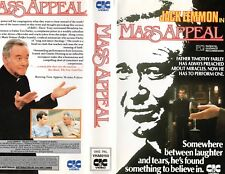 MASS APPEAL - Jack Lemmon - VHS - PAL -NEW - Never played! - Original Oz release