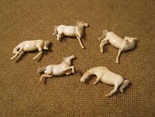███ Rarità 5 antica Cavalli gamba/da ristrutturare - ca.1700 Barocco