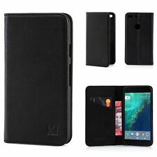 32nd Classic Series - Real Leather Book Wallet Case Cover for Google Pixel XL G.pixelxl.32ndclassic-black Black