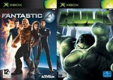 fantastic 4 & hulk   PAL FORMAT XBOX ONLY