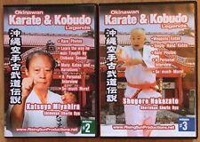 Shorin Ryu DVD-, Katsuya miyahiri & Shuguro nakazata