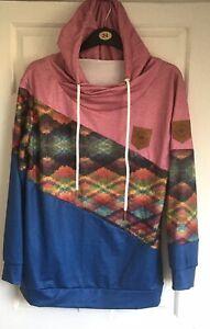 Fashion Classics Plus Size 5XL Multicoloured Hoodie