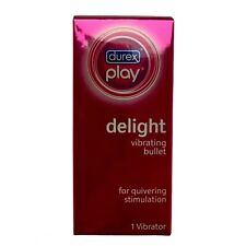 Durex Play Delight Vibrating Bullet For Quivering Stimulation Waterproof Sealed