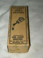 A Vintage Stuart High-Speed Spirit Measure Box by John Stuart Industries Melb.