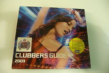 CLUBBER'S GUIDE 2003 MINISTRY OF SOUND 2CD DEE DEE LUCY CARR DIVINE INSPIRATION.
