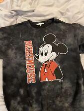 Junk Food Women's Size M Mickey Mouse Sweatshirt