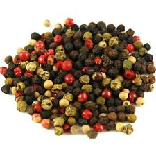 Mixed Peppercorn Medley / four color/ rainbow / 1 lb. ORGANICALLY GROWN