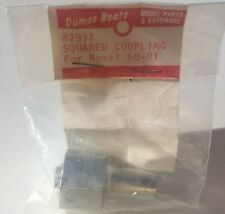 Dumas Boats Squared Coupling 2932 For Rossi 60-81 -Vintage Model RC Boats