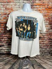 Vtg Bon Jovi Size Large Single Stitch Made in Usa The jersey Syndicate