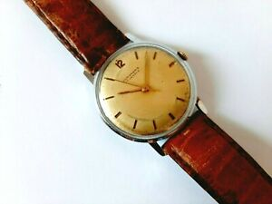 Early 60s, Vintage JUNGHANS men's watch, Mechanical Cal 87, Made in Germany, 17j