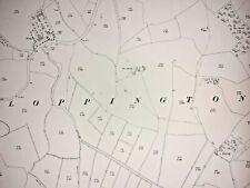 Old Antique Ordnance Map 1926 Shropshire XXI.1 Baschurch & Loppington