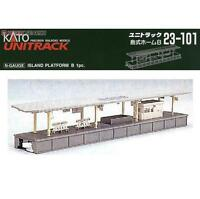 Kato 23-101 Quai ile / Island Platform Type B - N