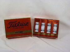 Schweppes Titleist Golf Balls - One Dozen NOS - Black Schweppes Logo