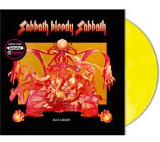 Black Sabbath Sabbath Bloody Sabbath LP Coloured Yellow Vinyl New Sealed
