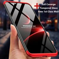 For Nokia X6 6/6.1/6.1 Plus 2018 360° Shockproof Slim Case Cover+Tempered Glass
