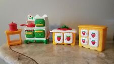 STRAWBERRY SHORTCAKE Berry Happy Home Berry Cozy Kitchen deluxe set lot