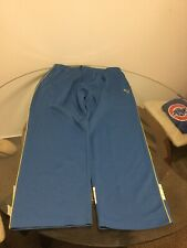 Men's Puma Blue Yellow Athletic Track Pants Sweatpants XXL Good Condition