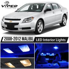 2008-2012 Chevy Malibu Blue LED Interior Lights Package Kit