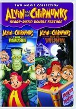 ALVIN AND THE CHIPMUNKS SCARE-RIFFIC New Sealed DVD Double Feature