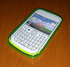 New Green Soft Plastic Blackberry Curve 8520 Smartphone Case Super Fast Shipping