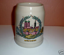"Munich, Germany ""Münchner Frauenkirche (Cathedral)"" Collector Beer Stein - 0,5L"