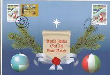 Italia / Finlandia 1999 emissione congiunta Natale Christmas Joint Issue MNH