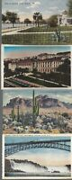 Vintage Scenic Postcards Circa 1800's-1900's Lot of 5 Bridges *