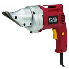 NEW Swivel Head 14 Gauge 4 Amp Heavy Duty Sheet Metal Shears Roofing, Flashing,