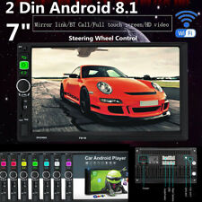 """7"""" 2Din Android8.1 Car SUV Radio GPS Navigation Audio Video MP5 Player Wifi Unit"""