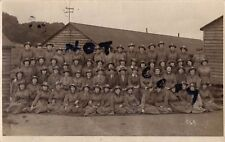 WW1 Ladies Women WAAC Womens Army Auxiliary Corps in hutted camp