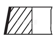 MAHLE ORIGINAL Piston Ring Kit 038 52 N0