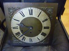 Original 1930s longcase resorte de reloj de péndulo impulsado chimeing MOVIMIENTO + ESFERA (2