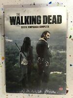 THE WALKING DEAD SEXTA 6ª TEMPORADA COMPLETA NUEVA PRECINTADA 5 x DVD ESP ING 3T