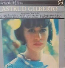 Astrud Gilberto with Antonio Carlos Jobim. Vinyl LP