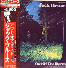 "JACK BRUCE ""Out Of The Storm"" 1974 Japan WL PROMOTIONAL Lp w/Obi CREAM CLAPTON"