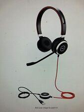 Jabra Evolve 40 Mono Black Headband Headsets