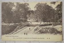"""CPA """" BAYONNE - L'ouverture des Remparts vers Biarritz"""