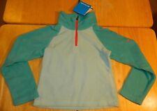 Youth Columbia Sportswear Company Glacial Fleece Half Zip Pullover Size XXS Teal