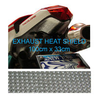 Exhaust Reflective Heatshield 100x33cm for Yamaha 600 Thundercat 1000 Thunderace