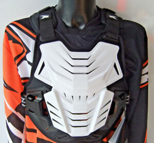 ADULT AXO MOTOCROSS BODY ARMOUR STONE DEFLECTOR CE APPROVED ENDURO PROTECTION