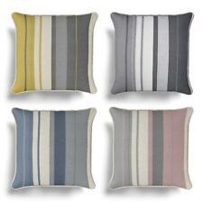 """Striped Cushion Cover Whitworth Stripe Printed Cotton Cushion Covers 17"""" x 17"""""""