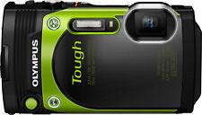 Olympus - TG-870 16.0-Megapixel Waterproof Digital Camera - Green