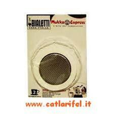 Blister Guarnizione + Filtro Bialetti Mukka Express 2 Tazze Originale