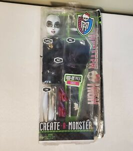 Mattel Monster High Create A Monster Ghost Doll Fantasma Add On Pack - READ!!!