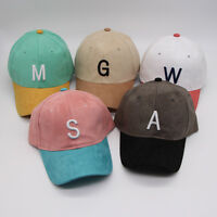 Mens Womens Boys Fashion Letters Baseball Cap Adjustable Strapback Trucker Hats