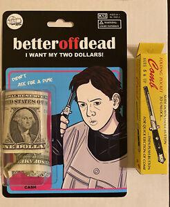 Better Off Dead custom movie toy art Super Secret Fun Club Sdcc mondo New