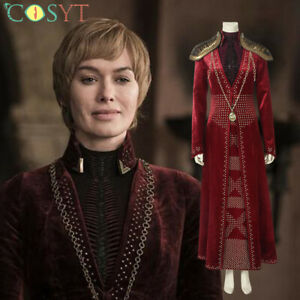 Game of Thrones SE.8 Cersei Lannister Cosplay Halloween Costumes